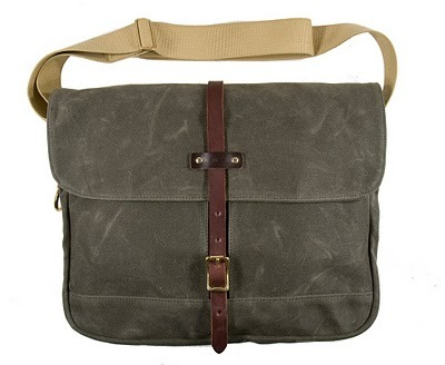 Archival Field Bag, canvas schoudertas