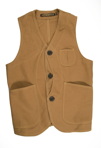 """Duck Outdoor"" Vest van Rising Sun & Co"