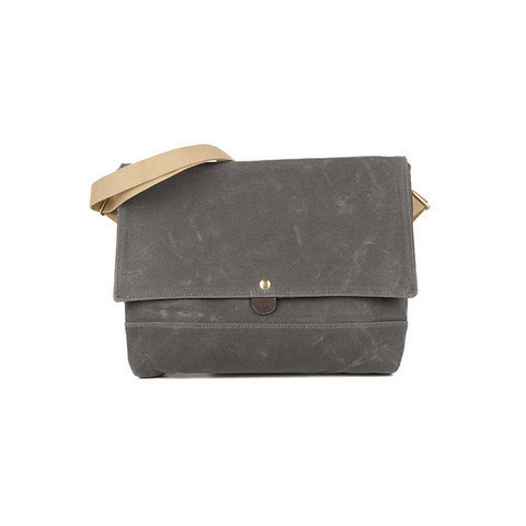 Flap Musette Tas, Archival Clothing, canvas tas