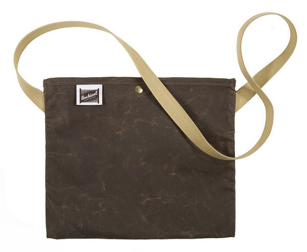Plain Musette Canvas Tas van Archival Clothing