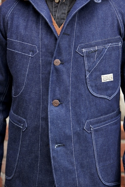 Engineer Jacket van Rising Sun & Co