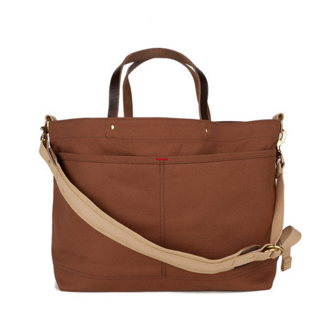 Schouder Tas  Archival Clothing, Kaneel Duck