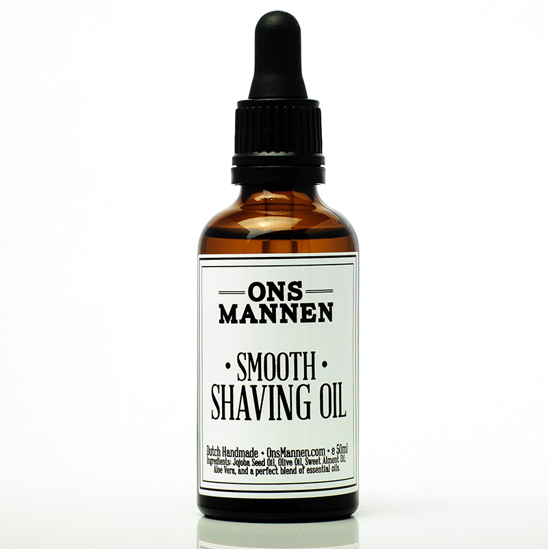 Smooth Shaving Oil 50ml OnsMannen