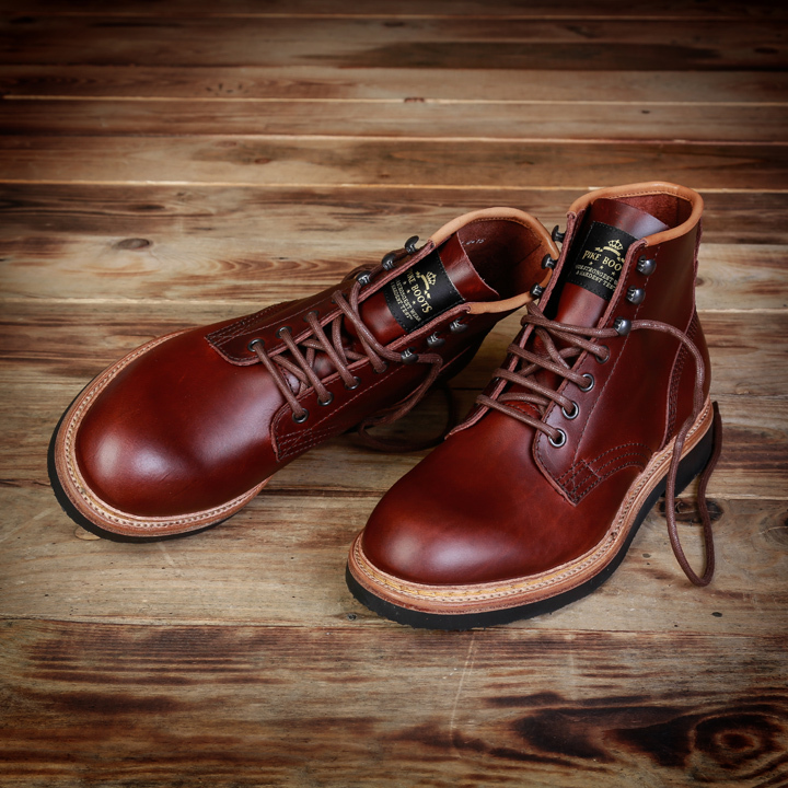 1948 Service Boots, Bourbon bruin Pike Brothers