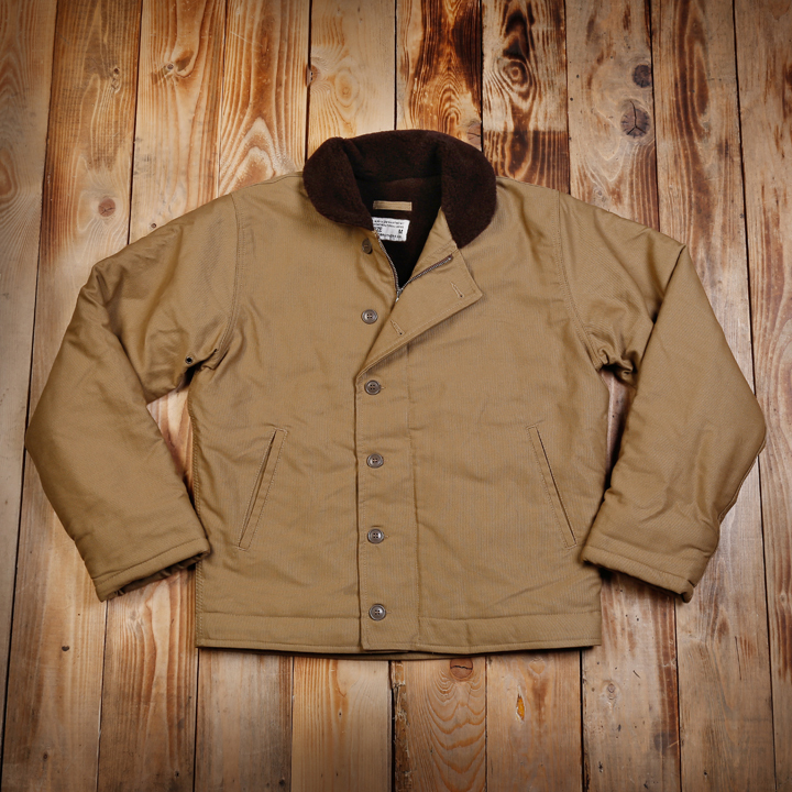 1944 N1 Deck Jacket Khaki Pike Brothers