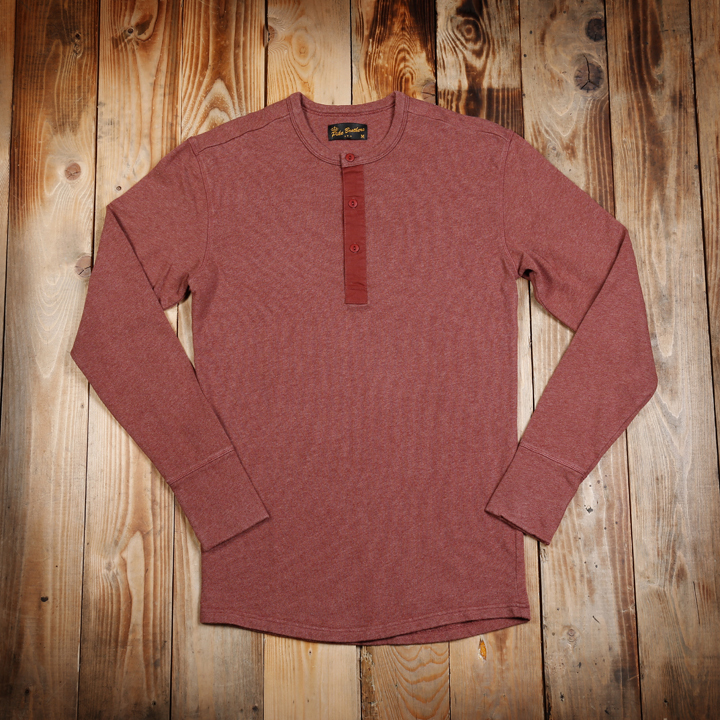 1954 Utility Shirt Long Sleeve Rusty Red Pike Brothers