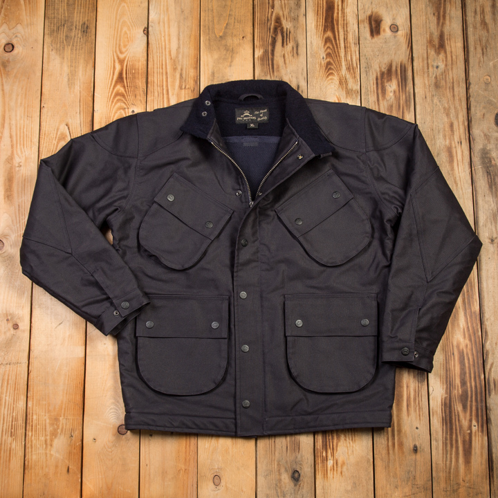 1966 Explorer Jacket Jacket Waxed Navy Pike Brothers EXTRA KORTING