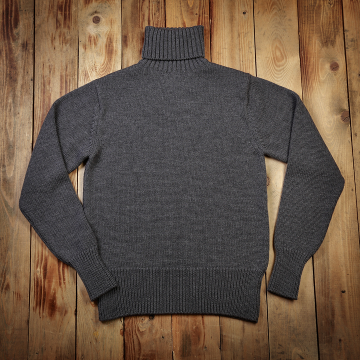 1923 Turtle Neck Grijs (Grey) Pike Brothers