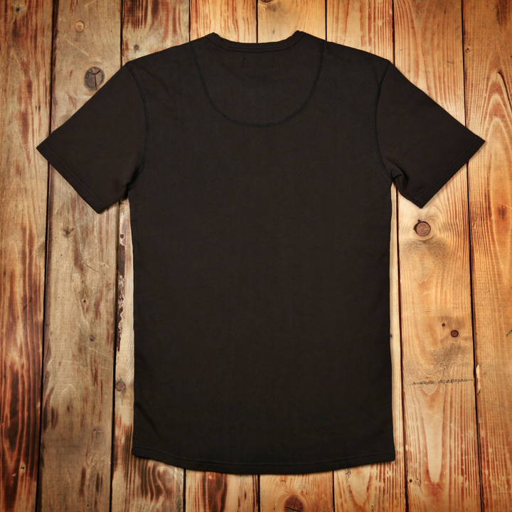 1954 Werkhemd, Utility short Shirt Pike Brothers faded black