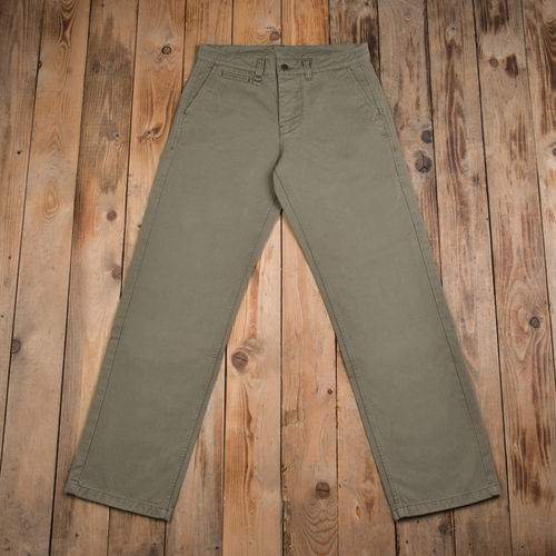 1948 engineer pant cav. twill grey green Pike Brothers