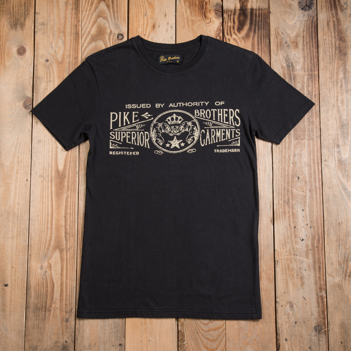 1964 Sports Tee Elephant black Pike Brothers EXTRA KORTING