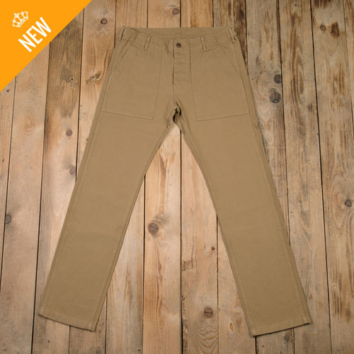 1962 OG-107 Pant narrow HBT coyote Pike Brothers