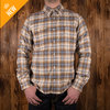 1937 Roamer Shirt dark oliv flannel Pike Brothers