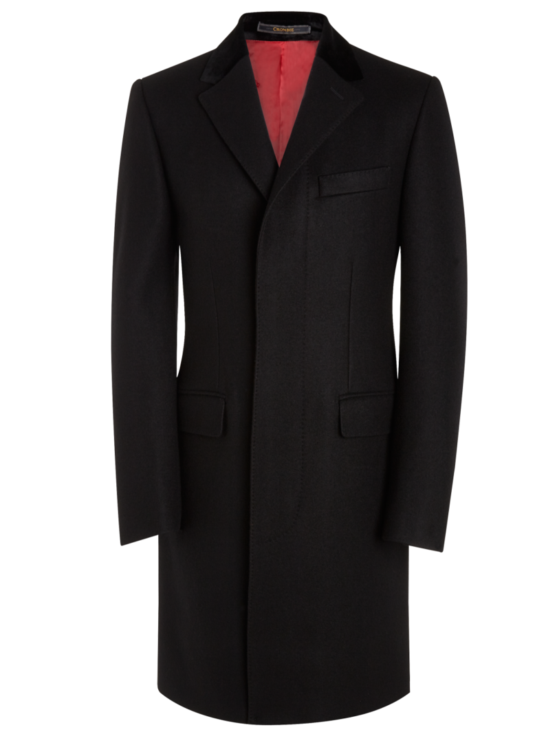 The camel ladies herringbone crombie coat
