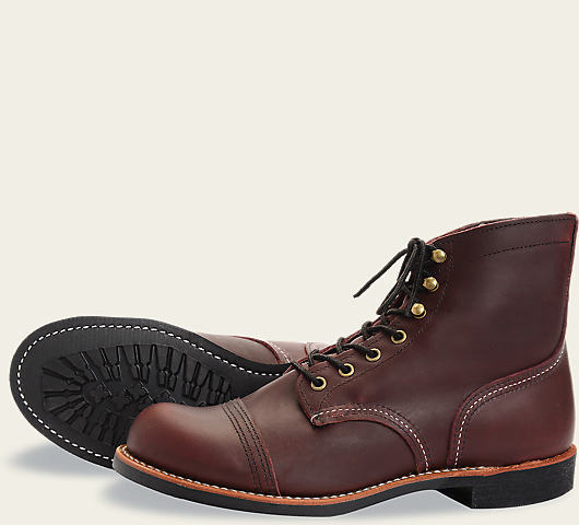 Red Wing 8119 Iron Ranger Oxblood