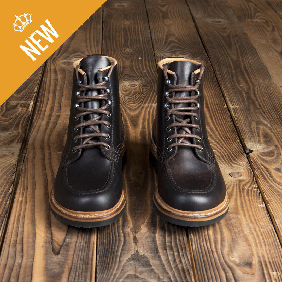 1948 Moc Toe Boots brown, Pike Brothers