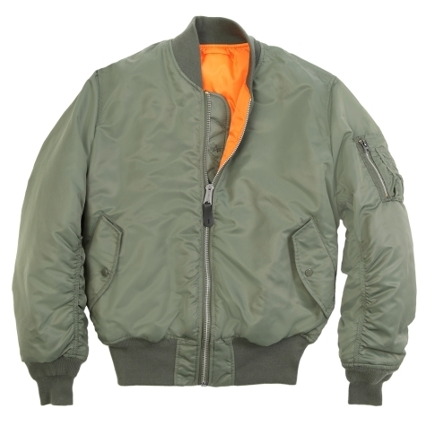 Alpha Ma-1 Flight Jacket Sage Green