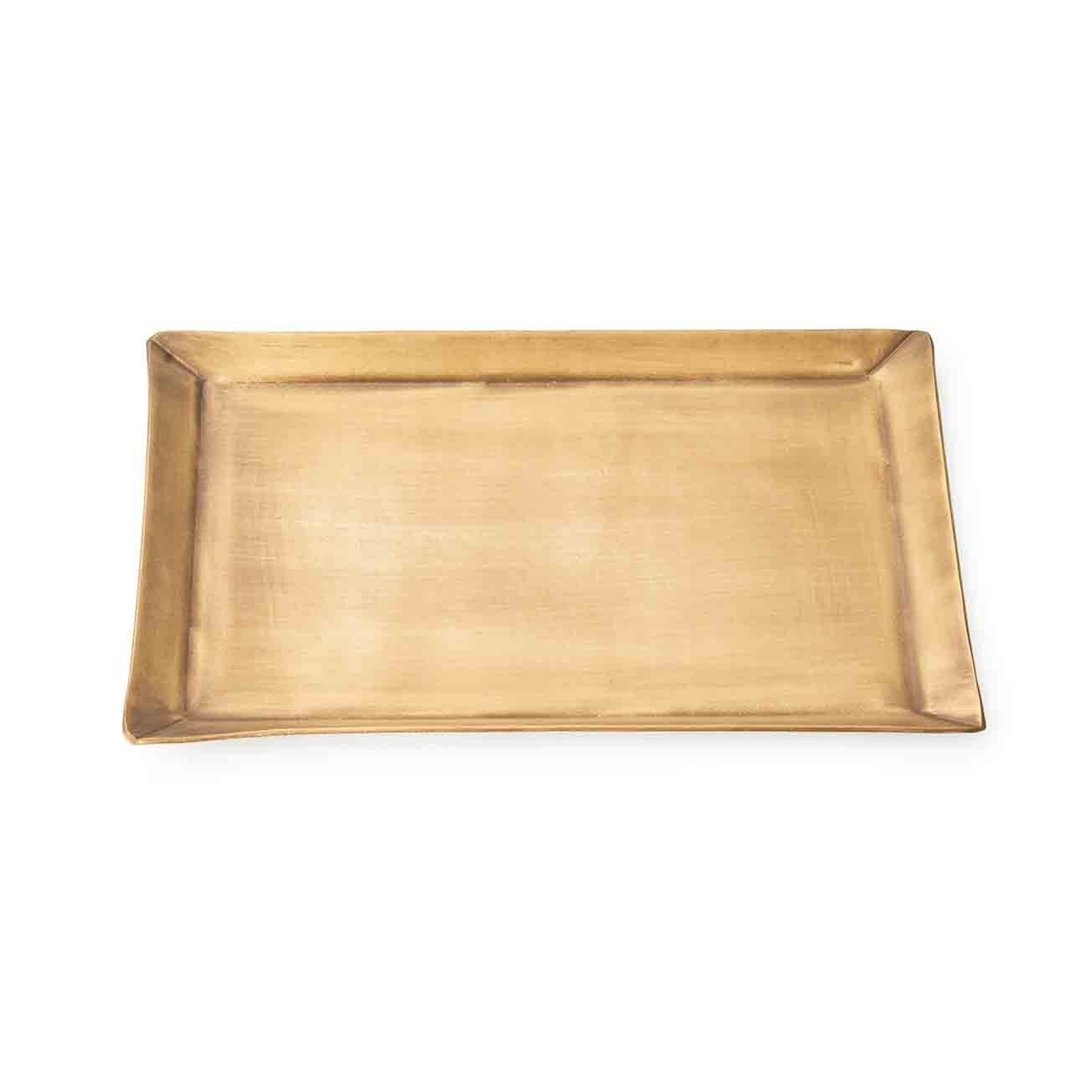 brass plate rectangle - fog linen work