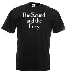 The Sound and the Fury, Ian Curtis Paradiso T-Shirt, Zsa Zsa Linnemann