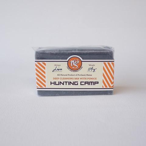 Hunting Camp Soap, Zeep, Portland General Store