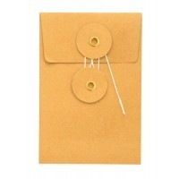 Midori Kraft M Orange Envelop 8x