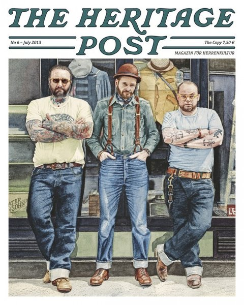 The Heritage Post 6, July 2013, laatste exemplaren