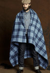 Rising Sun & Co Blanket Roll, Blue Plaid - uitverkoop laatste emplaren