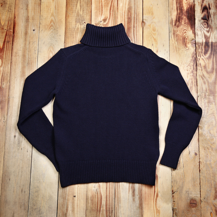 1923 Turtle Neck, Coltrui Dark Navy Pike Brothers - final pieces