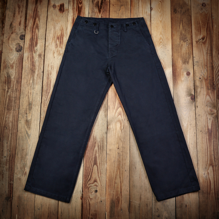 1932 Engineer Pant Dark Navy Pike Brothers - restant