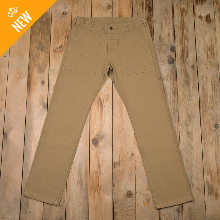 1962 OG-107 Pant narrow HBT coyote Pike Brothers RESTANT