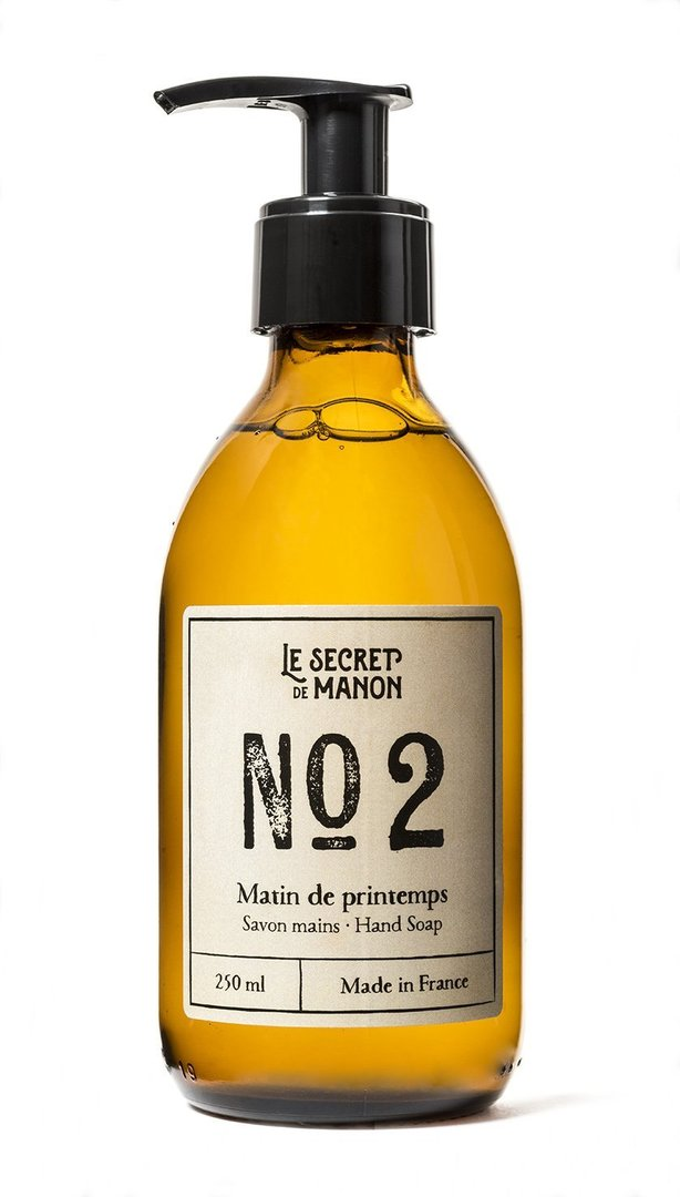 Matin de Printemps Hand & Body Wash (Linen, 250ml), LE SECRET DE MANON